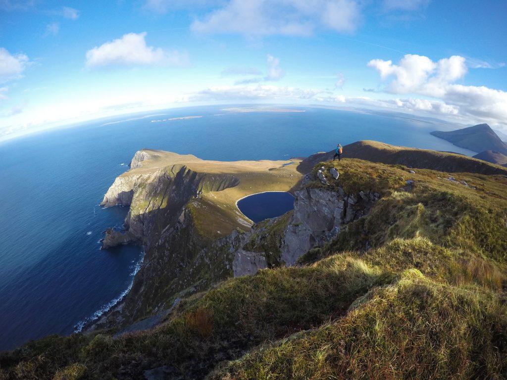 Achill Island, Saddle Head, Croaghaun Mountain