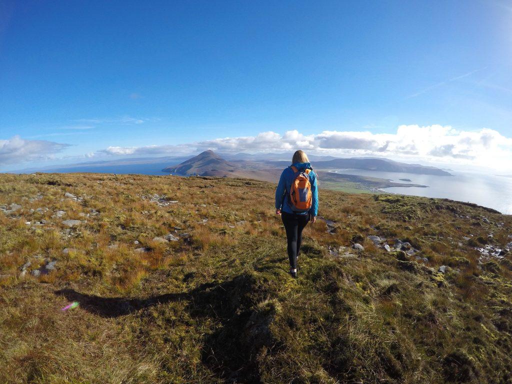 Achill Island, Ireland, Croaghaun Mountain