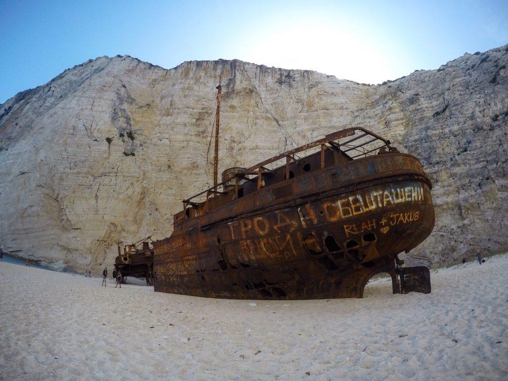 Navagio Shipwreck
