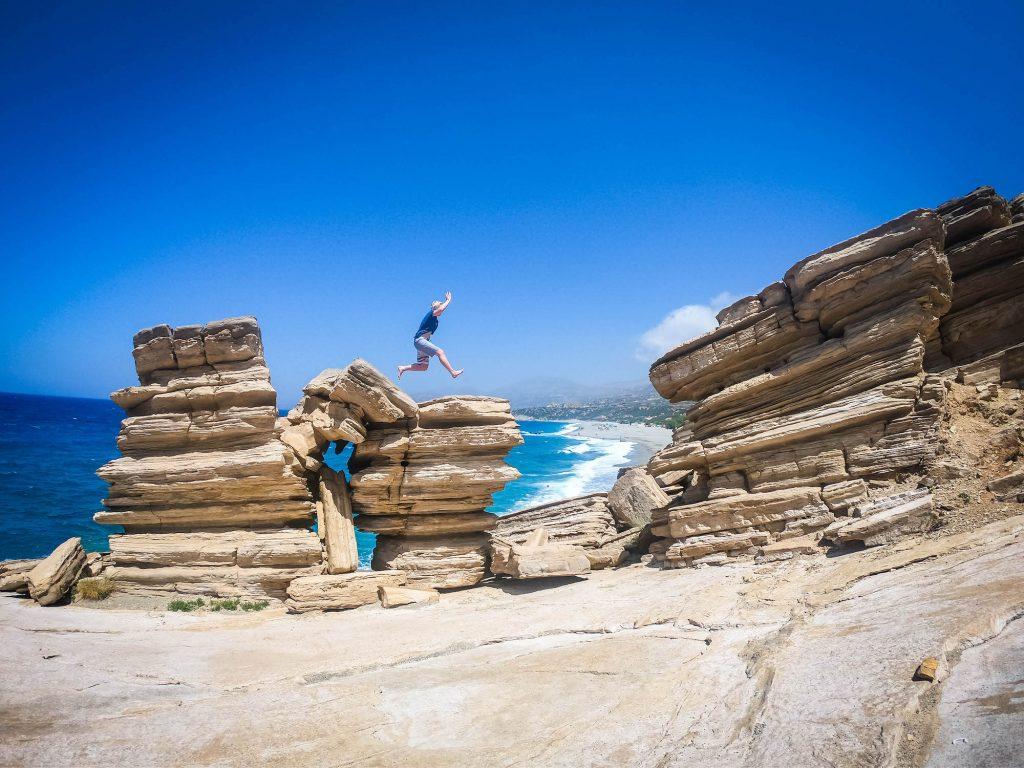 Triopetra-crete-greece-beach-rocks