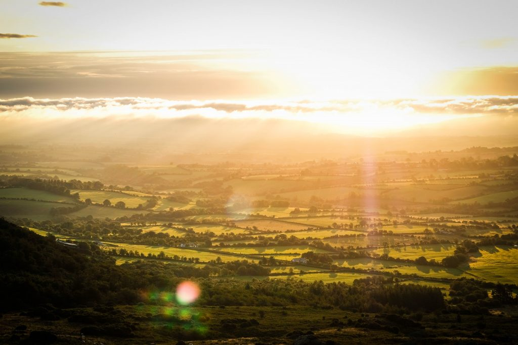 Comeragh Mountains Sunrise