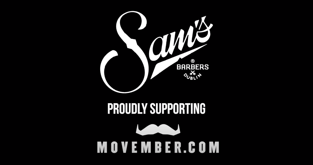 Sam's barbers movember promotional video