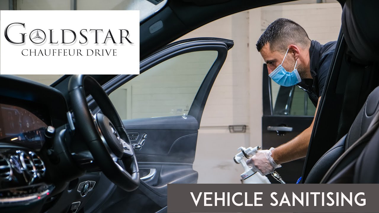 Goldstar Chauffeur Drive cleaning video Fiona Madden Potography