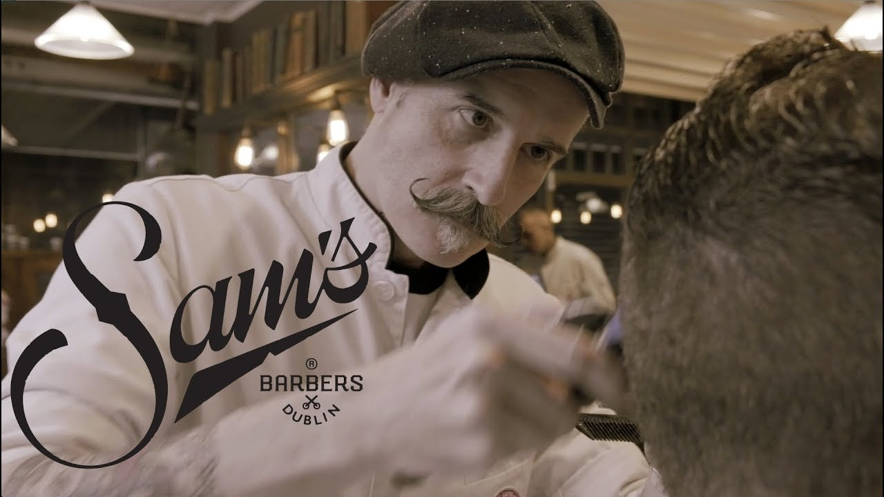 Sams barbers promotional video Fiona Madden Photography