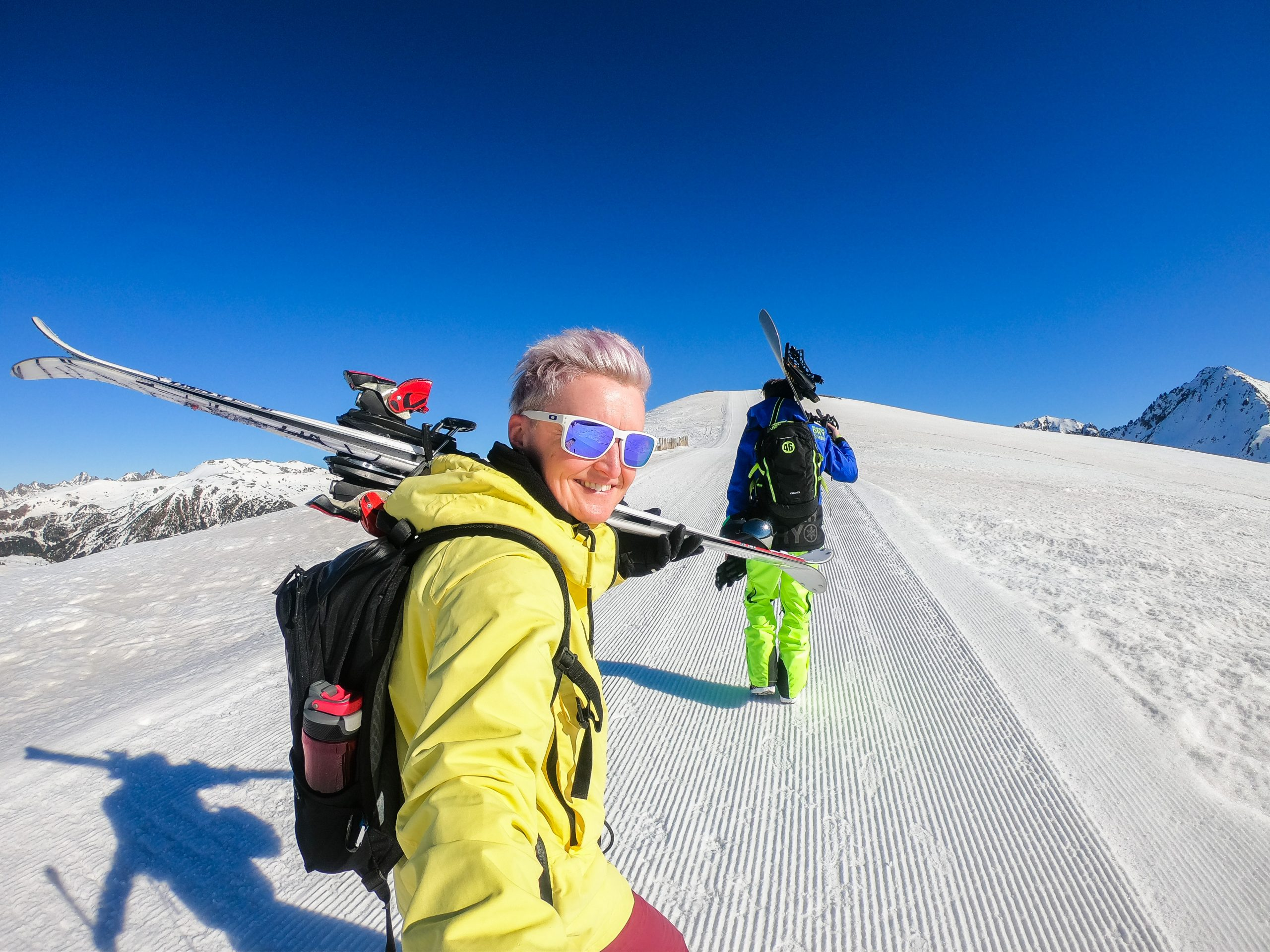 Fiona Skiing